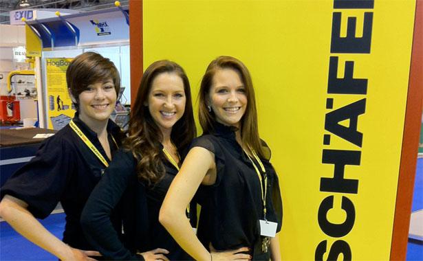 Zest Exhibition Staff at Trade Show
