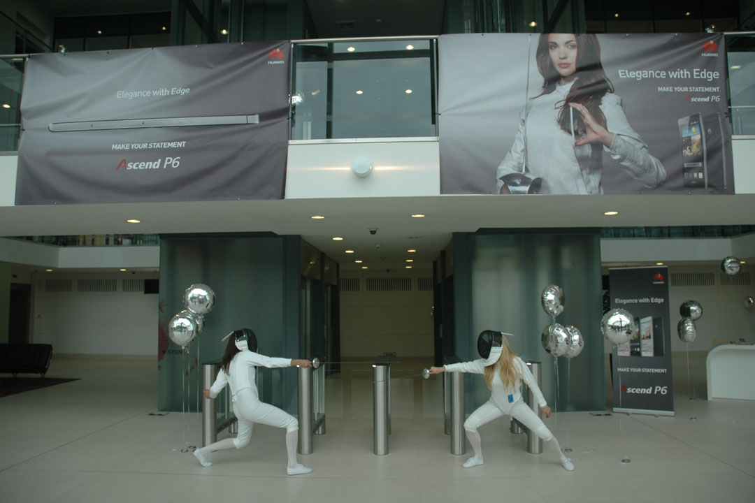 Zest Promotional Staff support Huawei at several exhibitions