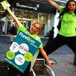 Street Leafleting team from Zest Promotional Staffing