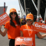 Zest Brand Ambassadors welcome guests at Olympic Park