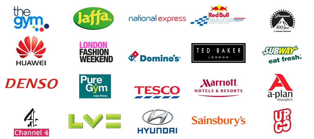 Examples of Brands that Zest has worked with